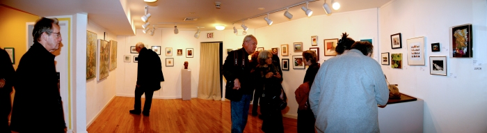 Small Works and Active Member wall, Founders Gallery