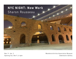 NYC NIGHT - Sharon Rousseau
