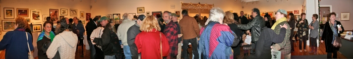 WAAM Holiday Show opening