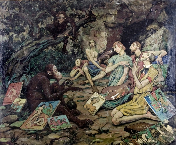 Chanler, R Parody of the Fauve Painters