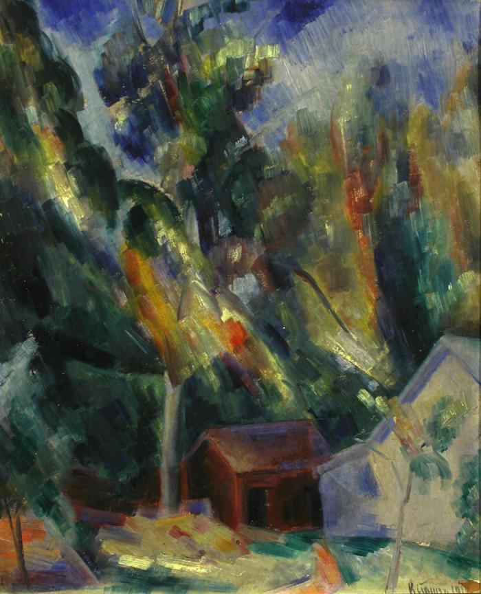 Konrad Kramer Landscape 1919