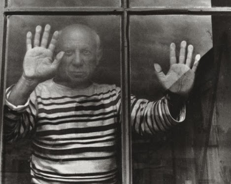 picasso at window