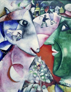 Marc Chagall I and the Village