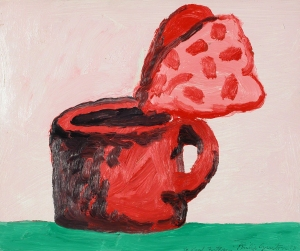 Philip Guston, My Coffee Cup, 1973. Oil. Gift of Mr. and Mrs. Karl E. Fortess.