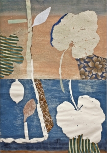 Print and collage by Pia Oste-Alexander
