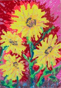 john-galaskas-sunflowers