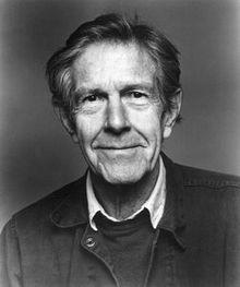 John Cage portrait
