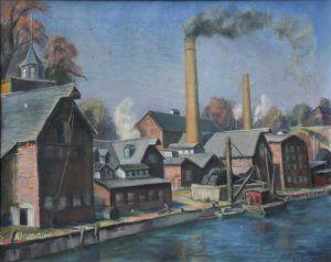Neil Ives Pulp Mill Saugerties
