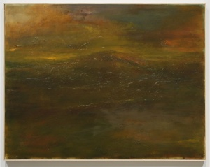 Jake Berthot Shawangunk oil on linen 2010