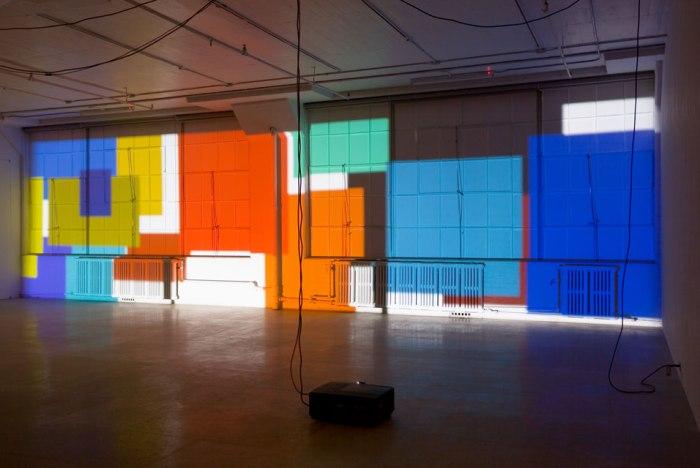 Paul Chan Sade for Sade's sake 2009 Digital color projection