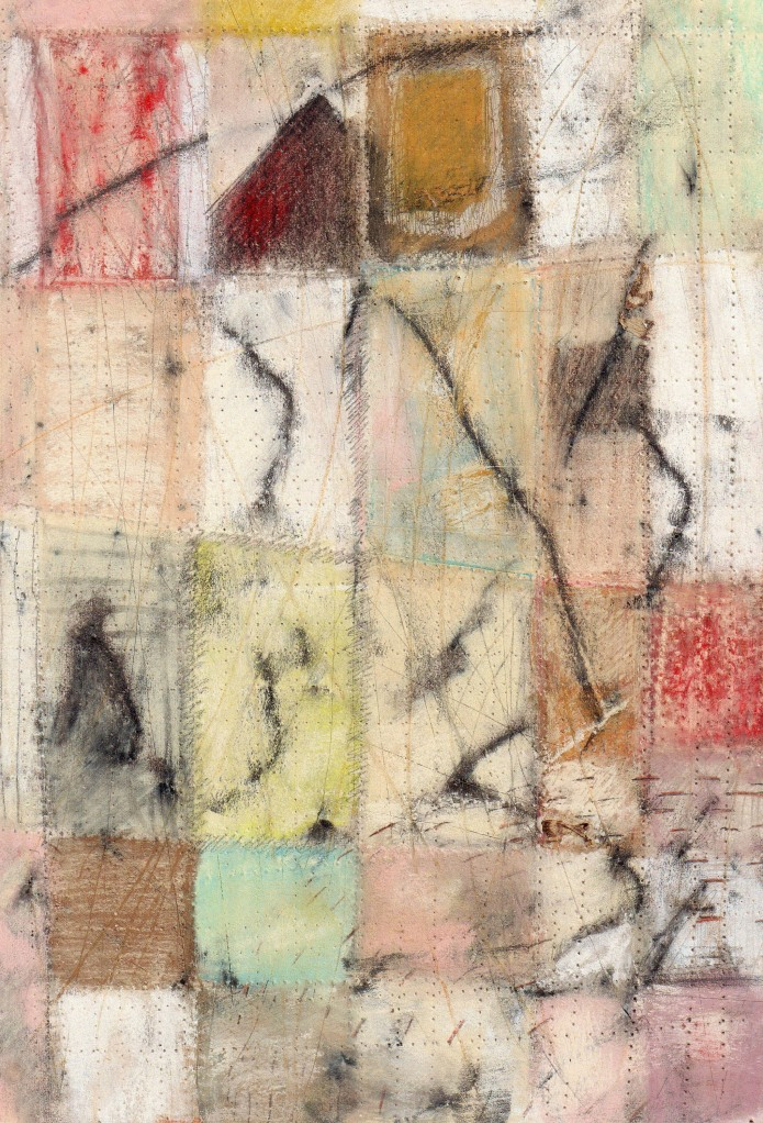 Joan Oliver Abstract Patchwork