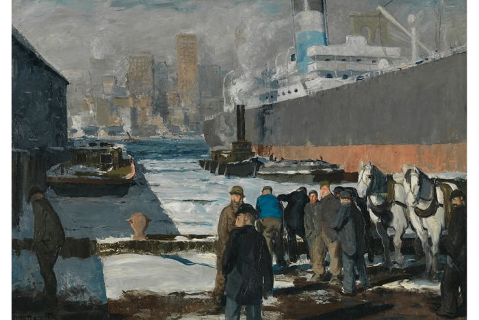 Men of the Docks George Bellows