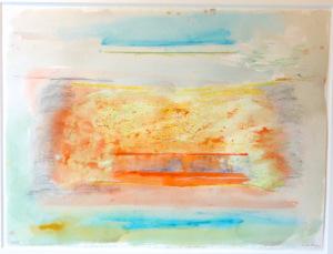 'Relay II' (1976) by Helen Frankenthaler. (Courtesy Armand Bartos)