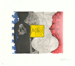 JasperJohns_LR 16, Untitled, 2010