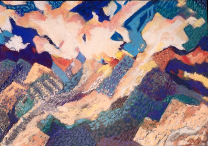 Fauve Landscape Nanette Shapiro
