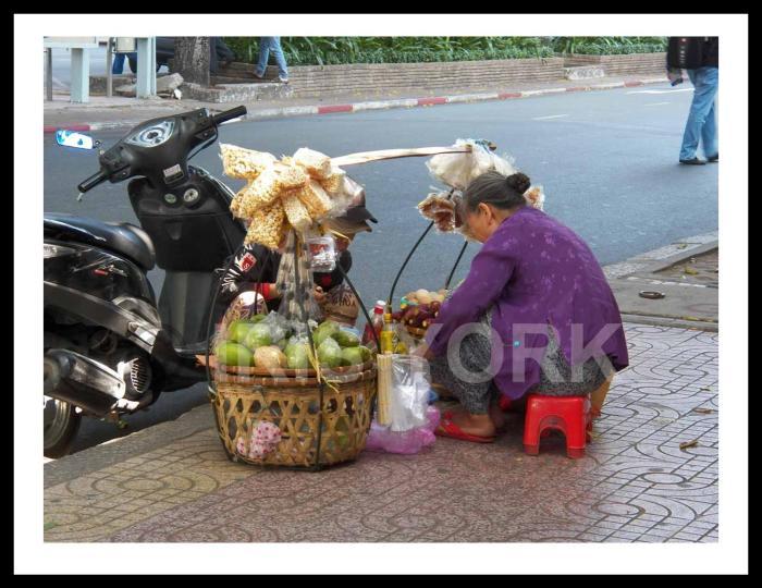 Saigon Street Vendor Iris York