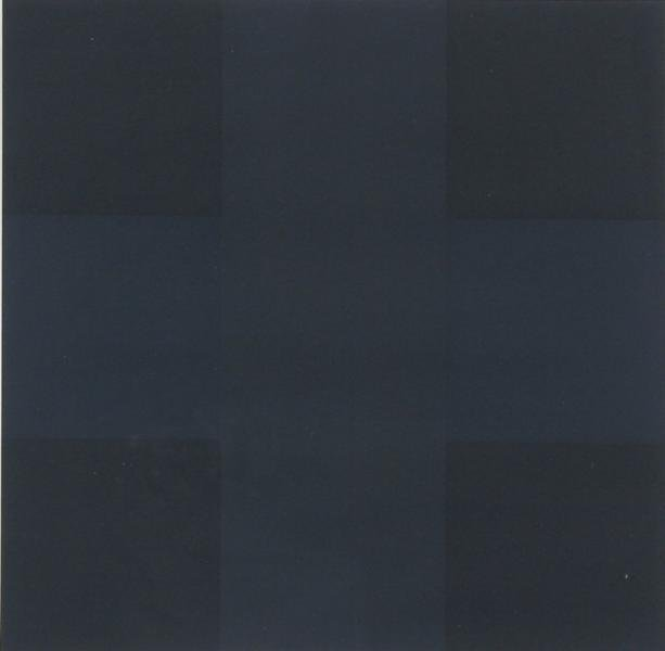 Ad Reinhardt, Untitled (Abstract Blue and Black)
