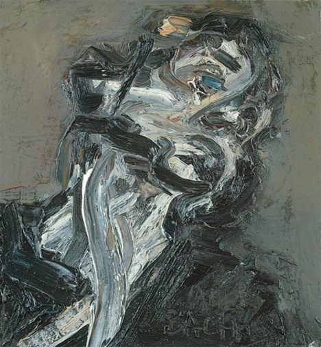 Frank Auerbach Head of J.Y.M ll 1984-85 Painting Oil on canvas