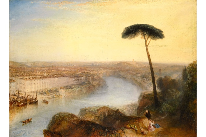 Rome, from Mount Aventine, 1835 Turner