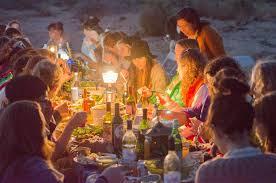 Women's Dinner in the Desert, March 2012 - photo Thea Lorentzen Courtesy Women's Center for Creative Work