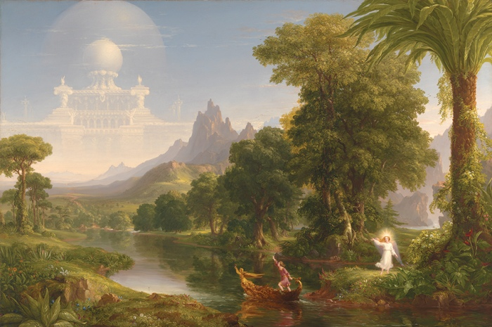 Thomas Cole The Voyage of Life - Youth