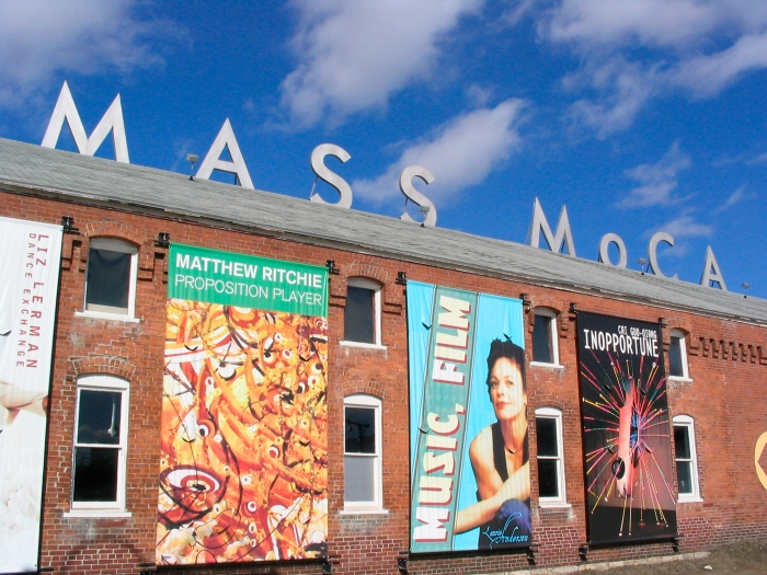 MASS MoCA Roof Sign  Phto credit: Paul Cortese