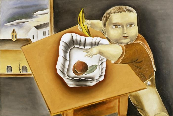 Yasuo Kuniyoshi, Boy Stealing Fruit