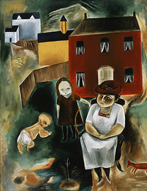 Yasuo Kuniyoshi, Maine Family,