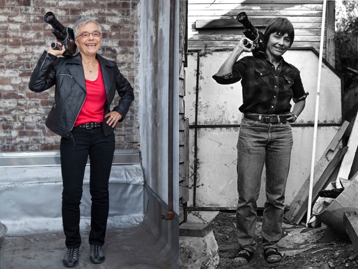 Barbara Hammer Photo Composite Credit Susan Wides