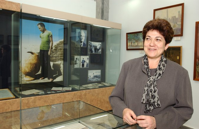 Marinika M. Babanazarova, the ousted leader of the Savitsky Collection in Uzbekistan, in 2011. Credit Gennadi Balitski