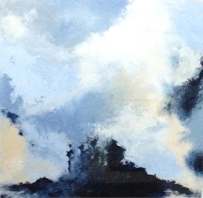 Woodruff Sky Watchers_ acrylic